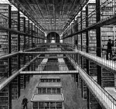 book stack of the bibliotheque - Google Search
