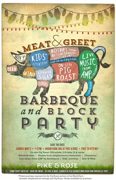 Meat & Greet BBQ and Block Party at Pike & Rose | May 3 http://www.pikeandrose.com/bbq/