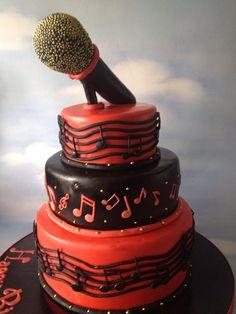 Singer Cakes   Musical Singer Cake   Flickr - Photo Sharing!
