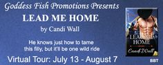 BLURB BLITZ & #GIVEAWAY - Lead Me Home by Candi Wall - #Contemporary, #Erotica, #Novella, Goddess Fish Promotions  (August)