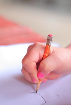 handwriting mastery begins before the introduction of the pencil