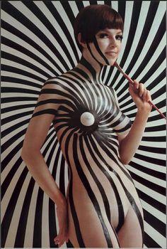 Mod 60's Body Art http://www.bigboobsdirect.com http://www.pinterest.com/merciduran/