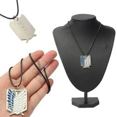 Metal-Anime-Attack-On-Titan-Shingeki-no-Kyojin-Cosplay-Necklace-Scouting-Legion