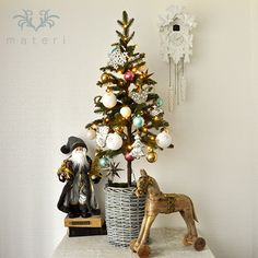 120cm Christmas Tree Set / Snow Fantasy by Materi