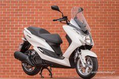 Yamaha Majesty S 125 - Real Alternativa - Test drives - Andar de Moto