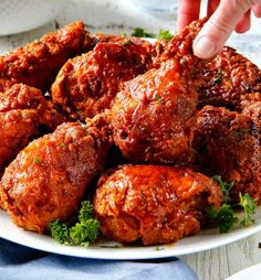 My family and friends go crazy over this Nashville Hot Chicken Recipe - and its easier than you think! Juicy, crispy, flavorful fried chicken and you can make it as spicy or not spicy just depending on how much Nashville Hot Sauce You use. Nashville Hot Fried Chicken Recipe, Spicy Fried Chicken, Fried Chicken Recipes, Spicy Recipes, Turkey Recipes, Indian Food Recipes, Dinner Recipes, Cooking Recipes, Zoodle Recipes