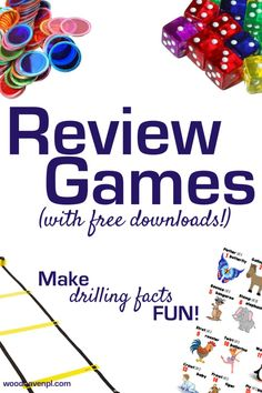 Who says learning needs to be boring? Use these easy and versatile ideas to make reviewing facts FUN. Plus, get free downloads of our best review games!