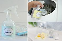 Nontoxic make-your-own cleaning solutions.