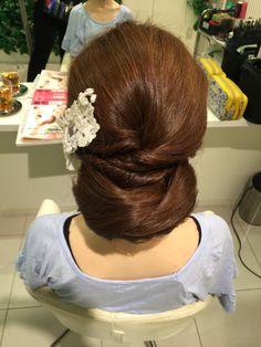 和装♡ヘアスタイル♡リハーサル♡お呼ばれヘア♡My Style