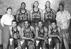 Can you guess what year this all-star Globetrotters team is from?