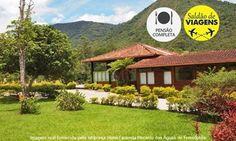 Groupon - Hotel Fazenda Recanto das Águas de Teresópolis (RJ): 2 ou 3 noites para 2 (opções em feriados) + pensão completa em Teresópolis. Preço da oferta Groupon: R$669