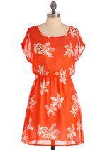 orange+sheer+flowers=favorite