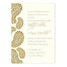 Kate Wedding Invitations by MyGatsby.com