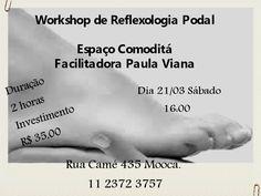 RBE Reflexologia bem estar: Workshop de Reflexologia Podal dia 21/03 sábado