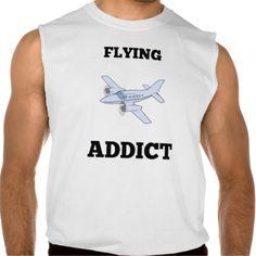 Flying Addict Sleeveless Shirt Tank Tops