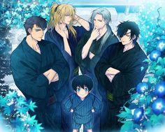 Touken Ranbu by Yuuno Yukioka Me Anime, Hot Anime Guys, Anime Boys, Kaneki, Anime Lock Screen, Shall We Date, Bishounen, Manga Drawing, Touken Ranbu