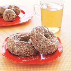 @A W. Here's the recipe! Apple Cider Doughnuts!