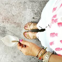 "Outfit details Gracias a @mariajosediazul de Our Favorite Style  Sandalias ""Majo"" #outfit #sandals #cococanelastore #cococanela #handmade"