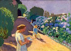 Maurice Denis, 1920 / Malon et les hortensias