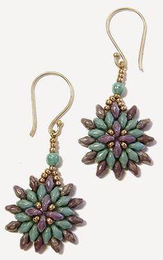 Cosmos Bracelet and Earrings