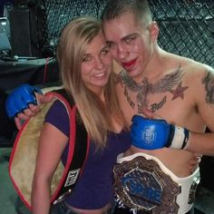 Being an MMA Fighter's Girlfriend