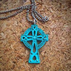 Bohemian Celtic cross  Artisan rustic Cross  Ornate Cross