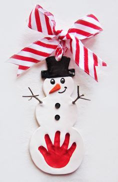 Easter bunny sisters hand in hand impression web www snowman hand impression keepsake made from your childs hand mail order negle Gallery