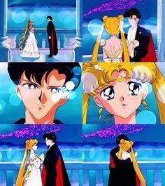 Sailor moon and Tuxedo Mask Sailor Moon Usagi, Sailor Moon Art, Sailor Jupiter, Sailor Princess, Moon Princess, Sailor Moon Crystal, Scott Pilgrim, Sailor Scouts, Mirai Nikki