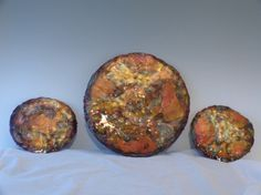 COPPER DISCS ABSTRACT copper wall by DONPOFFSCULPTURES on Etsy, $75.00