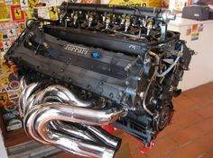 Ferrari V12 Fuel Injected Formula 1 Engine