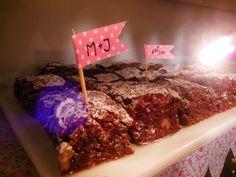Brownies en Shine a light Table de Süss Pastelería