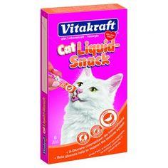 Vitakraft Cat snack líquido con pato y ß-glucanos para gatos