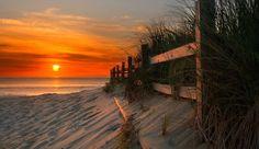 Sunrise, Sandbridge Beach, Virginia...I wanna be standing there with my sweet Husband!