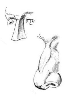 Instructie kop/portret tekenen