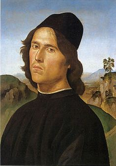 Perugino - Il Ritratto di Lorenzo di Credi è un dipinto a olio su tavola trasferito su tela (44x30,5 cm) di Pietro Vannucci detto il Perugino, databile al 1488 e conservato nella National Gallery of Art di Washington.