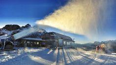sciare ad alleghe nel comprensorio dello Ski Civetta