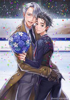 (Yuri!!! on Ice) Viktor Nikiforov/Yuuri Katsuki