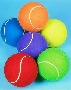 Jumbo 8 Inch Tennis Ball (Receive 1 Per Order) Assorted colors Jumbo Tennis Ball Assorted colors. Receive 1 ( random color ) per order 8 Inches in Size Comes deflated World Of Color, Color Of Life, Rainbow Art, Rainbow Colors, Bright Colors, Happy Colors, True Colors, Color Explosion, Rainbow Connection