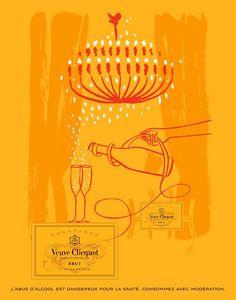 Veuve Clicquot Champagne Advertising