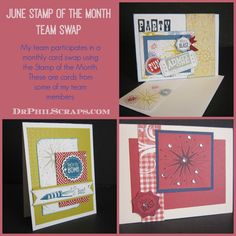 June Stamp of the Month from CTMH - http://DrPhilScraps.com