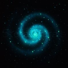 Glow in the Dark Star Ceiling Poster - SUPER BRIGHT - Large Spiral Galaxy - teenagers gift