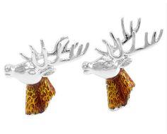 Select Gifts Bull Head Cufflinks /& James Bond Money Clip