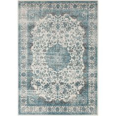 You'll love the Lulu Gray/Teal Area Rug at Joss & Main - With Great Deals on all products and Free Shipping on most stuff, even the big stuff.