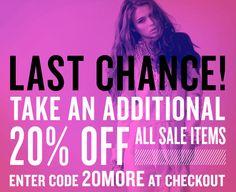 shopbop sale last chance