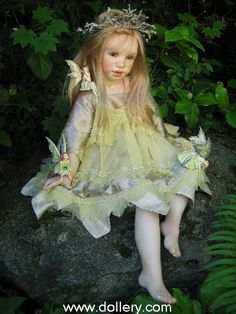 "Susan Krey Collectible Dolls | Yum Yum"" - Ltd. 5 - Call on availability or email kmalone@dollery ..."
