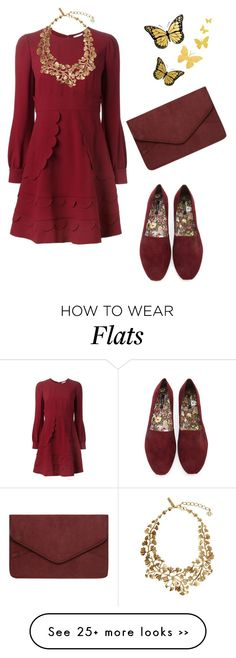 """Без названия #336"" by my-lovely-life on Polyvore featuring RED Valentino, Forever 21, Oscar de la Renta and Dorothy Perkins"