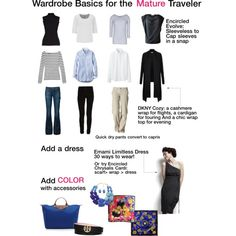 Capsule Travel Wardrobe for Woman Over 50 – Traveling Tulls Capsule Wardrobe Women, Travel Wardrobe, Travel Outfits, Travel Attire, Vacation Wardrobe, Capsule Outfits, Summer Wardrobe, Work Outfits, Core Wardrobe