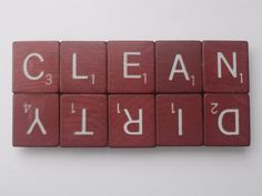 DIY Clean/Dirty dishwasher magnet made from Scrabble tiles Cute Crafts, Crafts To Do, Diy Crafts, Recycled Crafts, Diy Projects To Try, Craft Projects, Craft Ideas, Decor Ideas, Just In Case