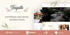 Buy Taysta - Wedding Event Planning WordPress Theme by Opal_WP on ThemeForest. Taysta is ideal for creating a wide range of different websites related to event planner, wedding planning, event ag. Wordpress Template, Wordpress Theme, Wedding Event Planner, Wedding Events, Wedding Planning, Wedding Themes, Photography Themes, Wedding Photography, Event Agency