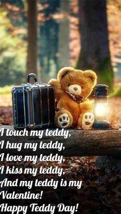 Happy Teddy Day Images, Happy Teddy Bear Day, Teddy Bear Images, Happy Valentines Day Quotes For Him, Valentines Day Wishes, Valentines Day Activities, Bear Wallpaper, Wallpaper Iphone Cute, Screen Wallpaper